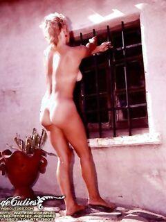 Винтаж порно шикарной женщины у бассейна