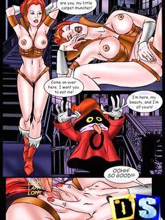 Секс комикс от горячих няшек