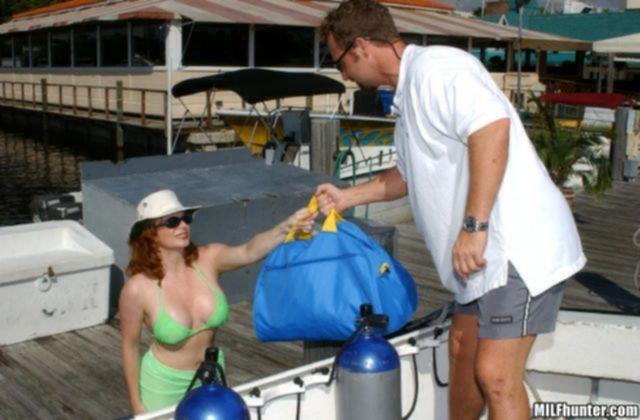Подводный секс туристов на дне Черного моря