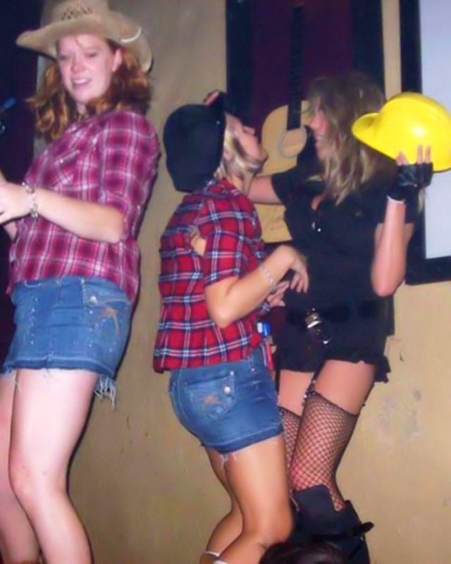 Пьяные лесбиянки и не такое могут показать