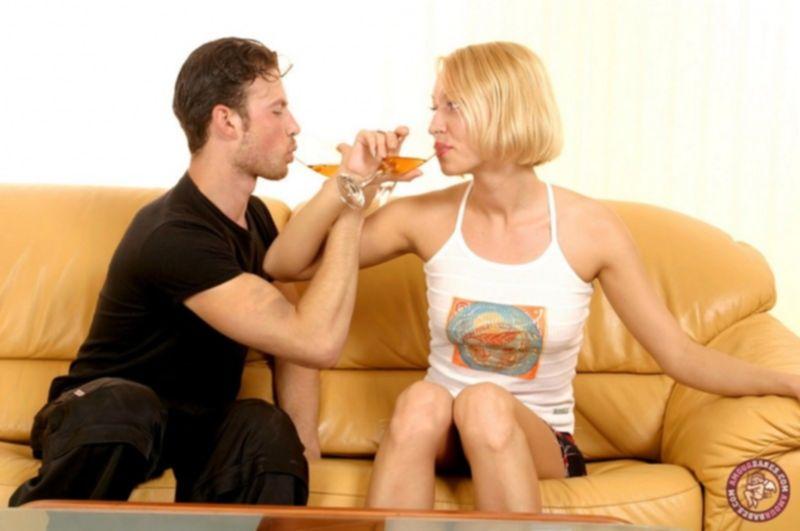 Вместе выпили и потрахались на пьяную голову